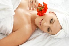 Spa relaxation Royalty Free Stock Images