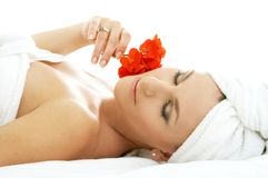 Spa relaxation #2 Royalty Free Stock Images