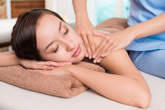 Spa relaxation Stock Photography