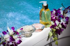 Spa Relaxation Royalty Free Stock Photography