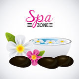Spa relaxation area Royalty Free Stock Image