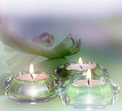 Spa relaxation concept Stock Image