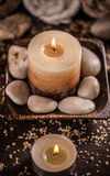 Spa relaxation setting Royalty Free Stock Photography