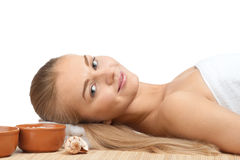 Spa Relaxing Royalty Free Stock Photo