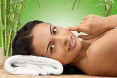Free Spa Relaxing Royalty Free Stock Photos - 19575158