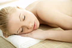 Spa Relaxing 2 Royalty Free Stock Photos
