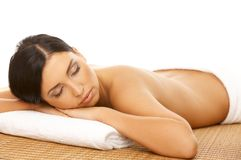 Spa Relaxing Stock Photography