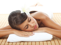 Spa Relaxing Royalty Free Stock Photos