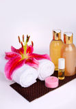 Spa Relaxing Elements Stock Photo