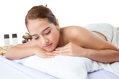Spa Relaxing Royalty Free Stock Photography