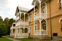 Spa resort Bardejovské kúpele  -  Resort near Bardejov, Slovakia Royalty Free Stock Photo
