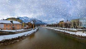 Spa resort Ischl mau - Áustria Fotografia de Stock Royalty Free