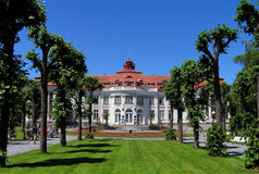Spa resort in Karlsbad. Czech Republic royalty free stock photos