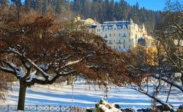 Spa resort Marianske Lazne Royalty Free Stock Photos