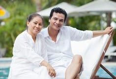 At spa resort Royalty Free Stock Images