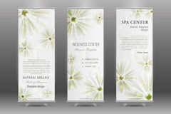 Spa Roll Up Banner Stock Images