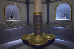 Spa room. In oriental style Stock Photo