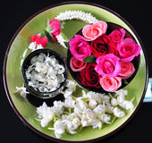 Spa rose garland of thailand Royalty Free Stock Images