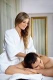 In spa salon Stock Photo