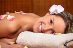 Spa salon Royalty Free Stock Photography
