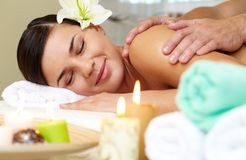In spa salon Royalty Free Stock Photo