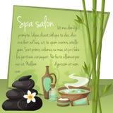 Spa salon background Stock Images