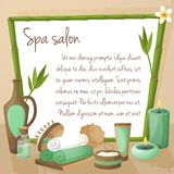 Spa salon background Stock Images