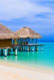 Spa salon on beach Stock Photography