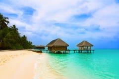Spa salon on beach Royalty Free Stock Photography