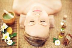 At spa salon Royalty Free Stock Image