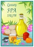 Spa Salon Poster Royalty Free Stock Image