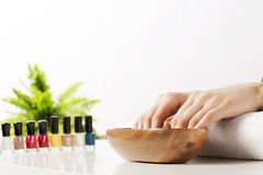 In spa salon Royalty Free Stock Photography