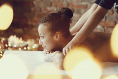 Spa salong Royaltyfri Fotografi