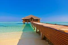 Spa saloon on Maldives island Royalty Free Stock Images