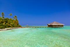 Spa saloon on Maldives island Stock Photography