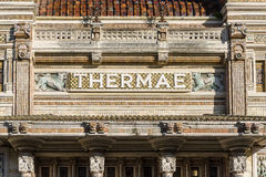 The Spa in Salsomaggiore Terme Royalty Free Stock Photography