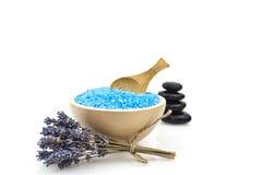 Spa salt Royalty Free Stock Image