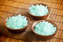 Spa salt royalty free stock images