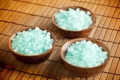 Spa salt Royalty Free Stock Images