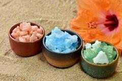 Spa Salt. Royalty Free Stock Image