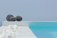 SPA at Santorini island Royalty Free Stock Photos