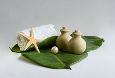 SPA, sauna. Canon EOS 20D, studio, 70mm. Still-life about cleanliness Royalty Free Stock Image