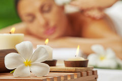 Spa scene royalty free stock photos