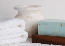 Spa Scene Royalty Free Stock Photo