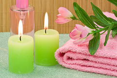 Spa scene Stock Images
