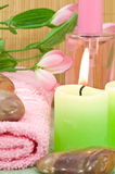 Spa scene Royalty Free Stock Image