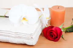 Spa scenery Royalty Free Stock Images