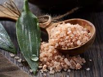 Spa. Sea salt Stock Images