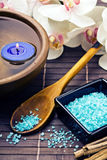 Spa sea salts Royalty Free Stock Image