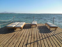 Spa and sea Royalty Free Stock Photo